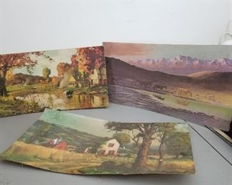 Vintage Art Paintings
