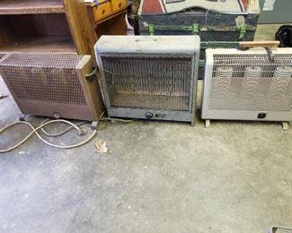 Vintage Electric Heaters