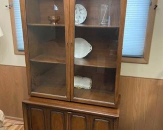 Vintage China cabinet from Broyhill https://ctbids.com/#!/description/share/311786