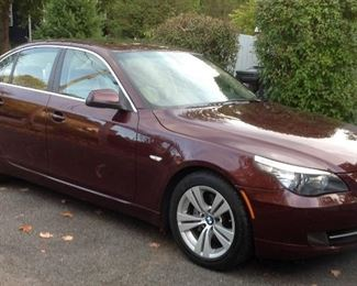 2010 BMW 528i fully loaded custom color 138k miles 1 owner  $6,400 or best offer