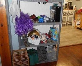 Halloween items, etc.