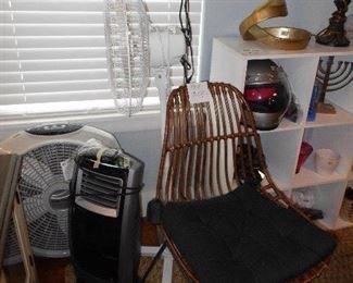 Lasko fan, room essentials, wind tunnel, floor lamp, Honeywell heater