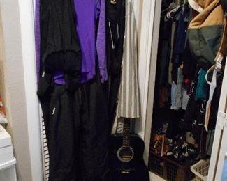 Biker outfits, Guitar, etc.