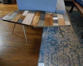 retro table (heavy), carpet
