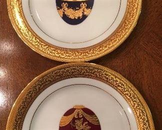 Beautiful Muirfield Plates