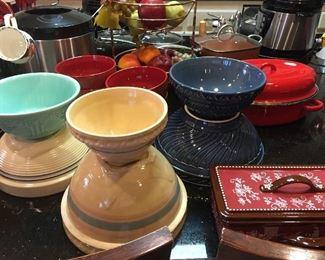 Beautiful Old Crockery  Bowls made in USA