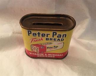 Advertising bank - Peter Pan Bread