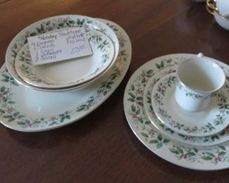 Christmas China Set