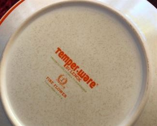 """Vintage Temper-Ware by Lenox -- these gotta be from the 70s because the word """"microwave"""" is not on them"""