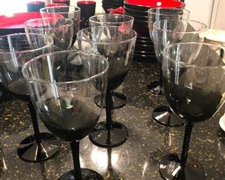 wine glasses been playin' in the dirt again