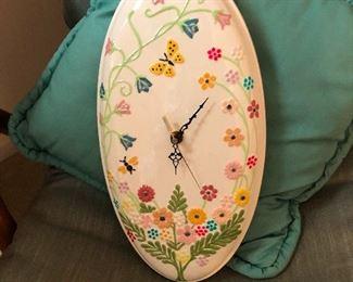 ostrich egg clock