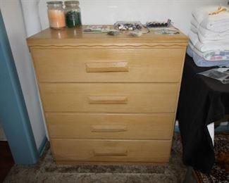 Three piece bedroom set all solid wood