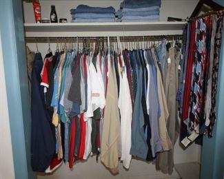Mens clothing sizes 36/38