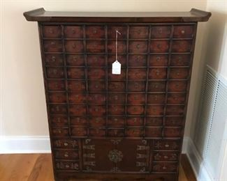 Apothecary Cabinet from Korea