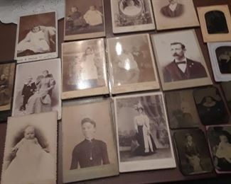 Old phots and tintypes