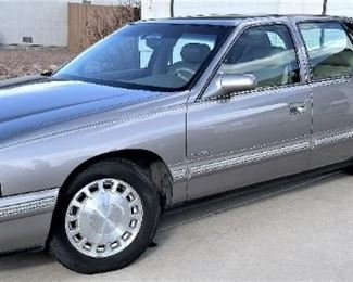 1998 ONE Owner Cadillac, 74,492 Miles