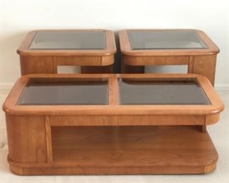 Oak Coffee & End Tables