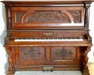 Antique Bush & Gerts Piano