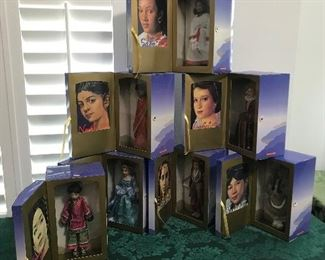 American Girl/Girls of Many Lands book and doll collector sets