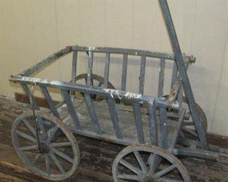 Wooden Goat Wagon