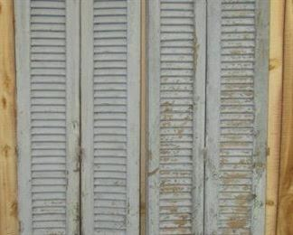 Tall Painted Shutters