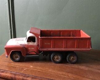 Vintage TruScale toy dump truck