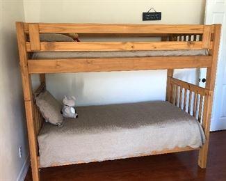 Bunk beds we have ladder also