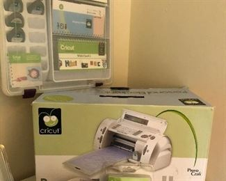 Cricut and all the accessories