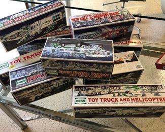 New Hess toy trucks