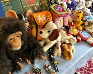 Lots of vintage toys