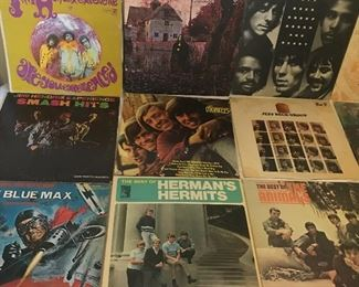 Jimi Hendrix , Black Sabbath, Monkees, Jeff Beck, The Animals and lots more great old LP's