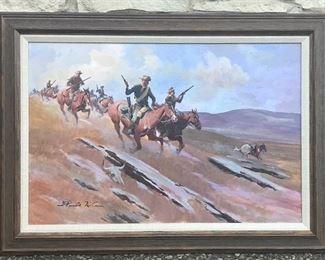 Gerald McCann original oil on canvas