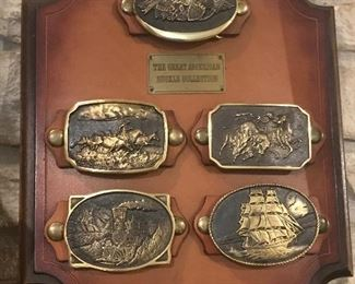 The Great American Belt Buckle Collection is fun and can be worn