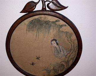 Silk hand painted Artwork