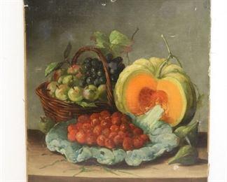 Dubois Signed Oil On Canvas Still Life
