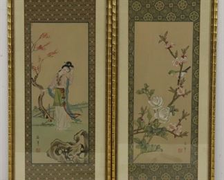 Framed Japanese Prints