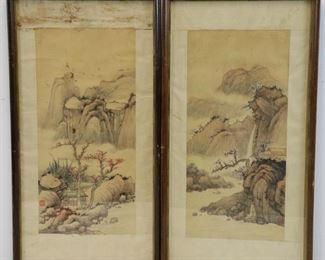 Framed Signed Watercolor Paintings