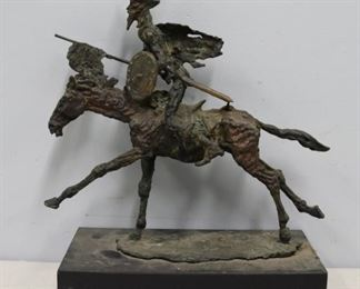 George Gach Signed Bronze Sculpture Of Horse