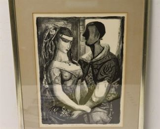 Gerritt Hondius Signed And Numbered Lithograph