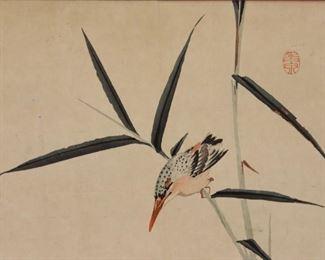 KINSMAN Signed Print Kingfisher