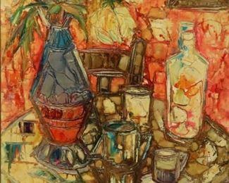 Milko Signed oil On Canvas