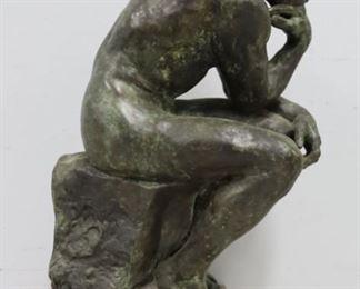 Rodin Early Alva Museum Bronze Reproduction