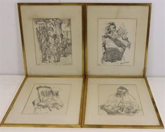 Seymour Rosenthal Pencil Signed Numbered