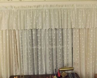 Lace curtains from Europe