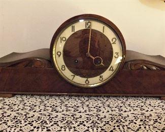 Juba Schatz mantle clock - with key