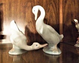 Nao/Lladro porcelain ducks