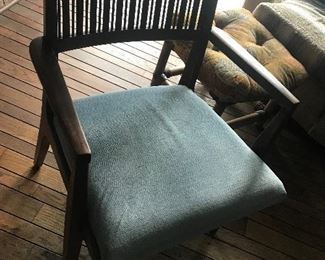 Dining Table chair (1 of three with table)