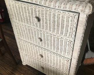 Wicker Dresser $ 118.00