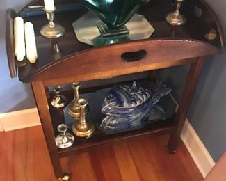 Rolling Butler's Tray Cart $ 58.00