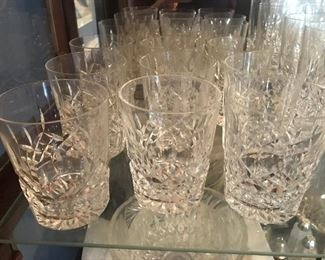 Waterford and Tiffany Glasses
